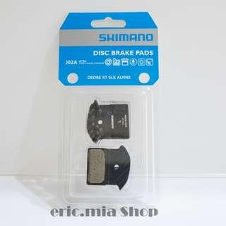 Shimano J02A Cooling Resin Fin IceTech Disc Brake Pads 1set Original packaging
