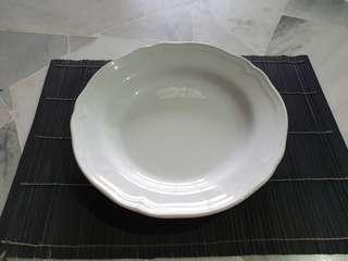 IKEA Earthenware Deep Plates