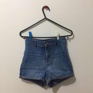 High-Waisted H&M Shorts