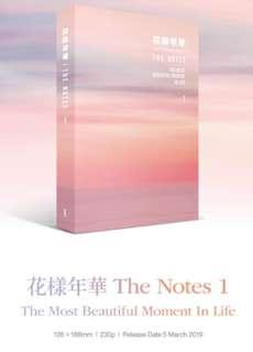 The notes 1 - The most beautiful moment in life