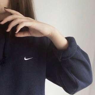 inspired nike black sweatshirt