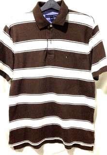 Tommy Hilfiger brown stripes