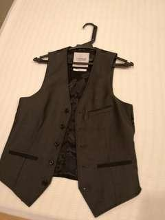 Men Vest Grey Size UK34