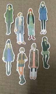 Girl Stickers Set B