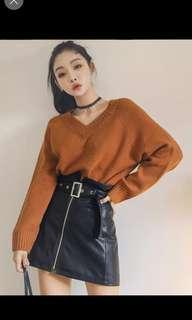 Caramel Knitted top