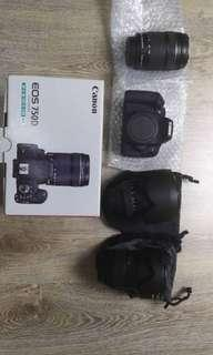 Canon EOS 750D Kit EFS 18-135mm IS STM