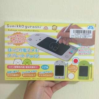 Authentic Sumikko gurashi memo tablet