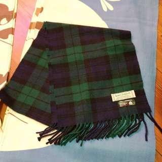 頸巾 英國製造