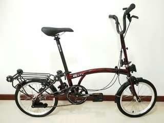 3Sixty Folding Bicycle, Brompton alike