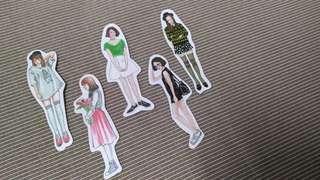 Girl Stickers Set G