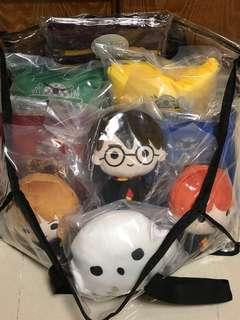 Changi Airport Harry Potter Plush Toys Full Set
