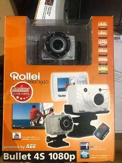 Rolled camera with controller