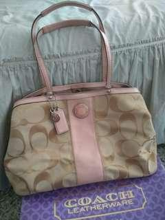 Original Coach bag with box