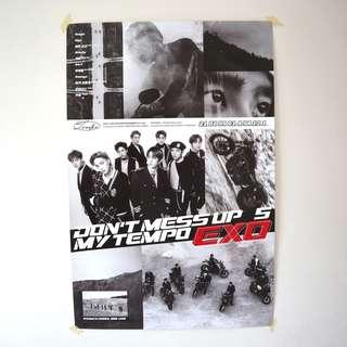 Official EXO Don't Mess Up My Tempo (Allegro Vers) Poster