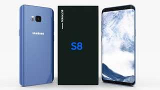 Used Samsung Galaxy S8 (Coral Blue)