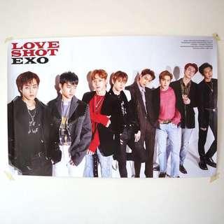Official EXO Love Shot (Shot Vers) Poster