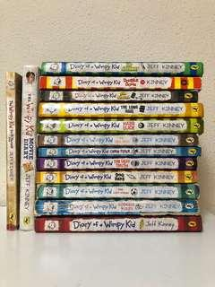 Diary of a Wimpy Kid series (bundle)