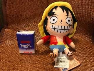 $55包本地平郵 正版海賊王One Piece毛公仔 禮物 路飛