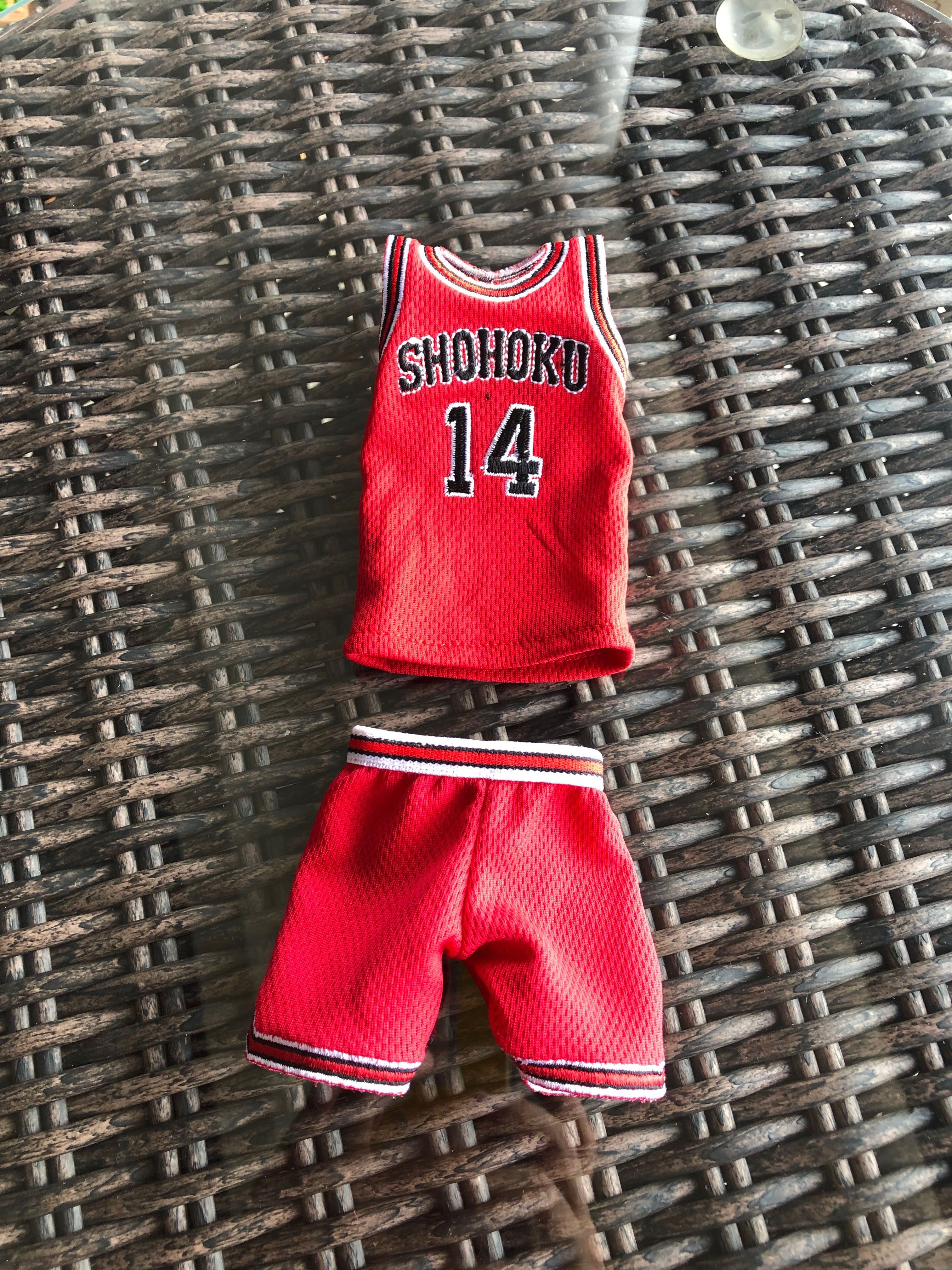 85492bd4095 1/6 Scale Slam Dunk Basketball Jersey Set, Toys & Games, Bricks & Figurines  on Carousell