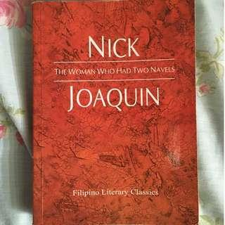 The Woman Who Had Two Navels (Nick Joaquin)