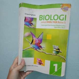 Buku BIOLOGI ERLANGGA Kelas X