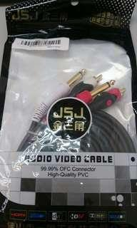 New Audio Video Cable