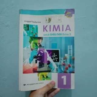 Buku Kimia ERLANGGA Kelas X