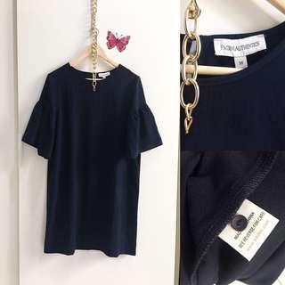 Loose Dress Blue Navy Size M