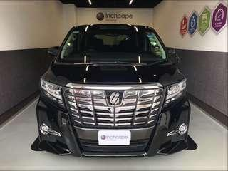 TOYOTA ALPHARD 2.5SC PACKAGE CVT ABS 2WD 5DR