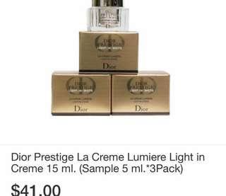 Dior prestige light-in-white