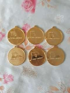 Star Cuises 6pics medal