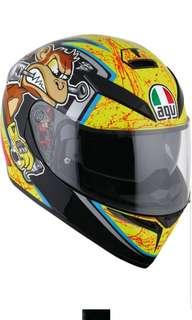 AGV K-3 SV Bulega SIZE MEDIUM LARGE X-LARGE Adult Full Face Motorcycle Motorbike Helmet