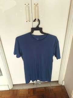 Blue uniqlo T shirt