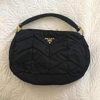 Prada Nylon Hobo Bag