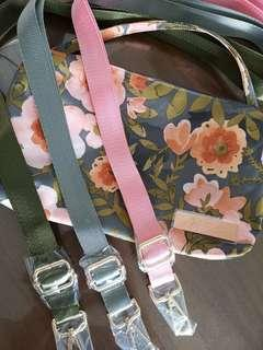 Adjustable seatbelt straps Jujube Whimsical Whisper
