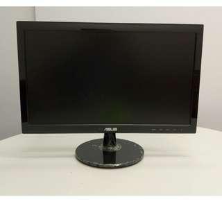 ASUS VS197DE 18.5吋顯示器 Monitor, 2016年生產, 1366x768解析度