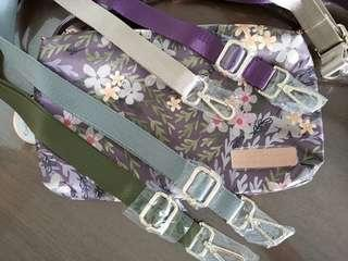 Adjustable seatbelt straps Jujube Sakura Dust