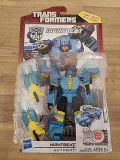 Transformers Generations Nightbeat IDW Deluxe Class MISB