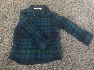Blue/green Checkered shurt