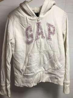 gap衛衣外套 內有毛毛 好保暖