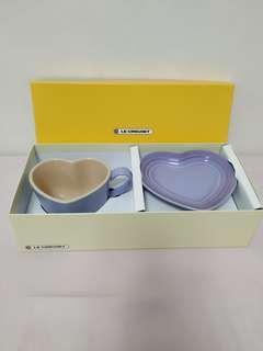 Le Creuset Purple Heart Mug Set