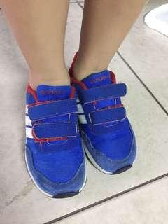 Adidas Rubber shoes for kids size 8 1/2