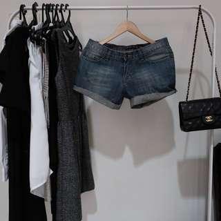 ROXY Short Jeans wih Diamond
