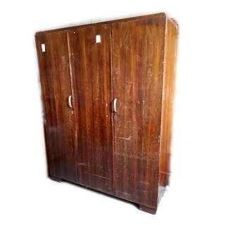Vintage Timber Wardrobe
