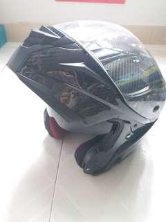 Mars電單車全碳䃸 揭面頭盔
