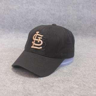 Topi MLB Cardinals Black Second Original  Tag Lengkap