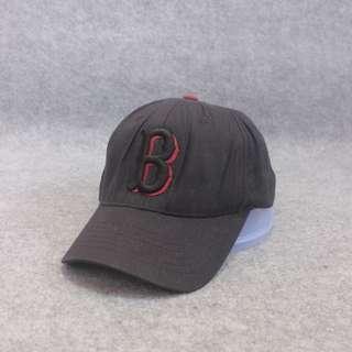 Topi MLB Boston Black Second Original