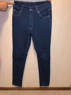 Cheap Monday dark blue jeans