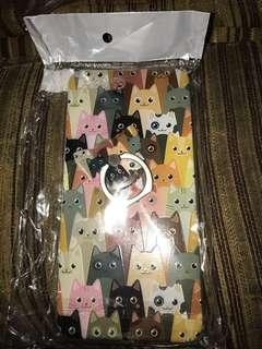 Jelly case & ring cat Iphone 7plus NEW