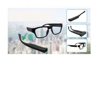 Spy Glasses Camera HD With Extra Battery Leg